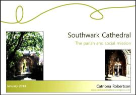 Southwark Cathedral cover pic